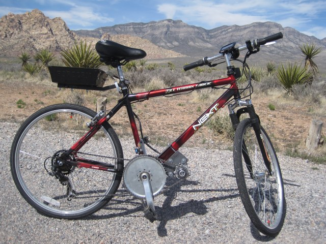 Eric's Electric Bicycle
